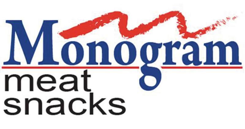 monogram meat snacks