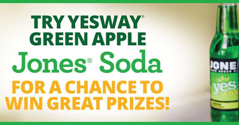 yesway green apple jones soda