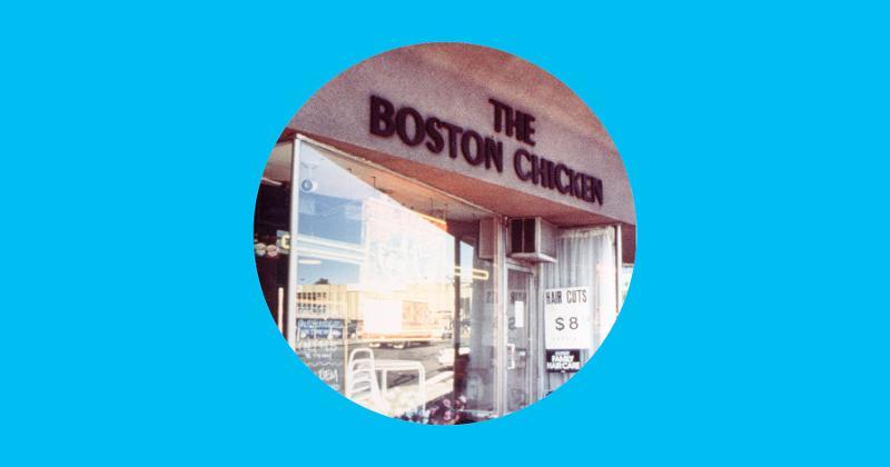 Photograph courtesy of Boston Chicken