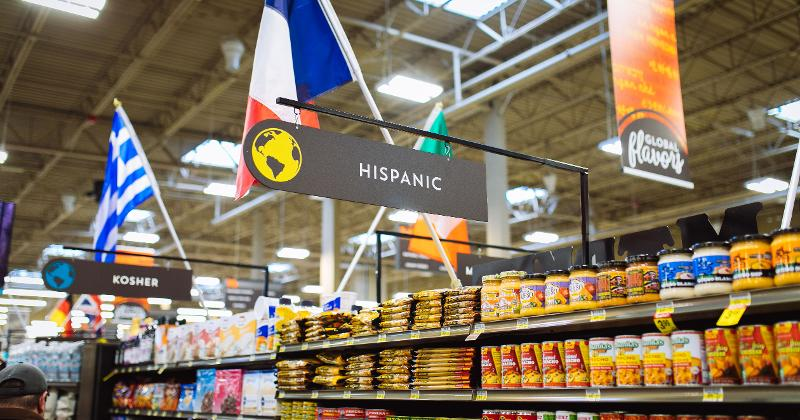 International Grocery Aisle
