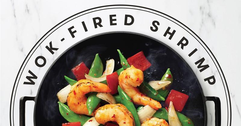wok fired shrimp