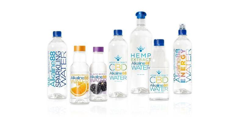alkaline water co cbd water bottles