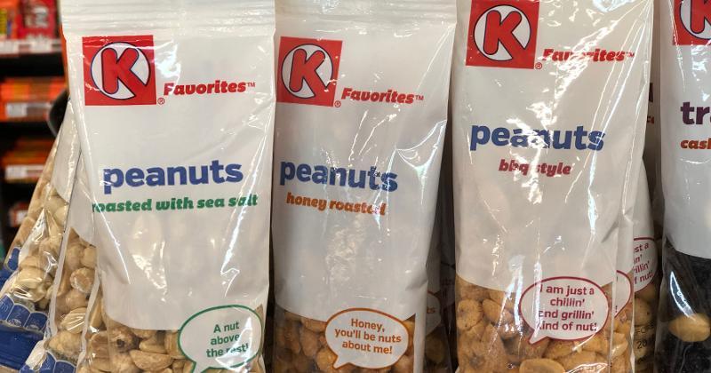 circle k peanuts