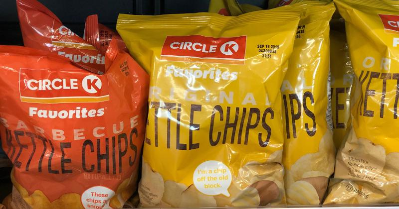 circle k kettle chips