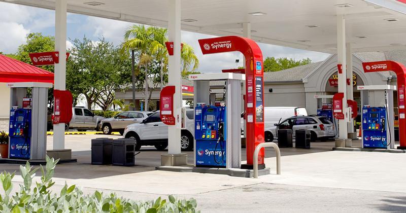 exxon synergy station