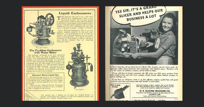 Ads from past issues of Restaurant Business