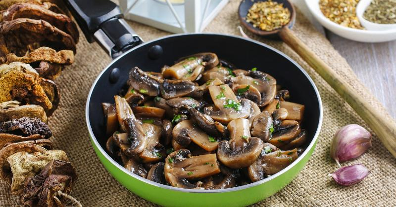 Sautéed-Roasted Mushrooms