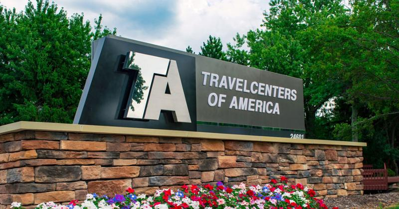 travel centers of america corp