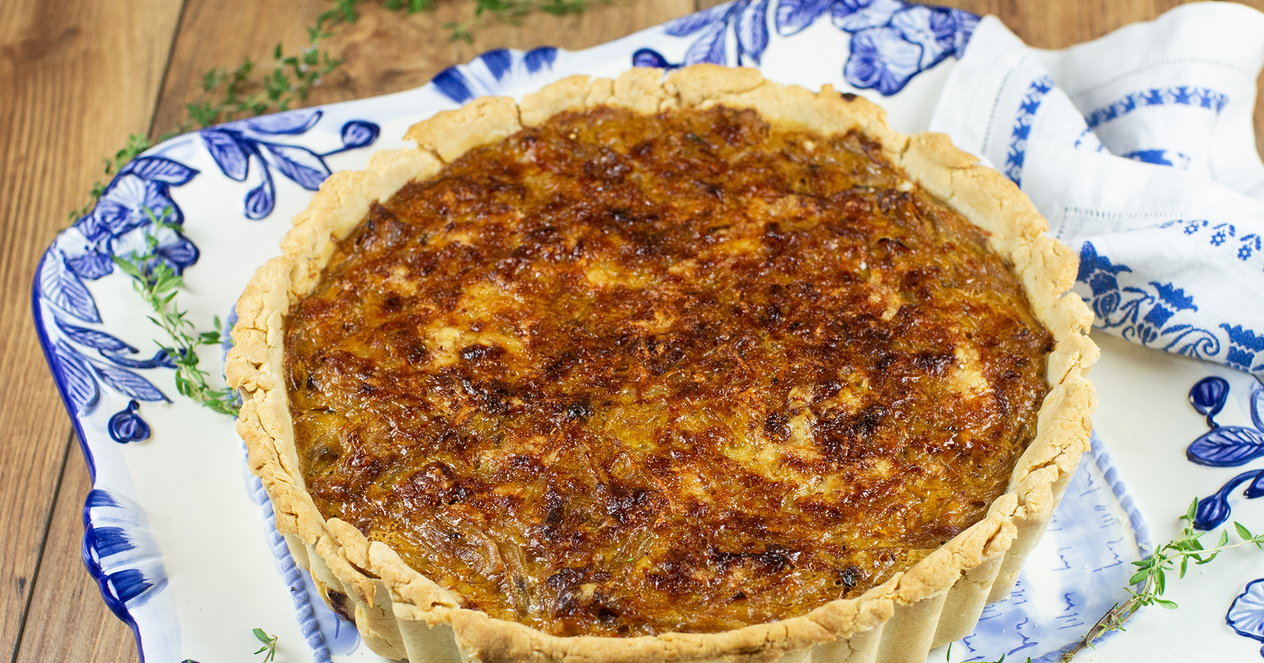 Flemish Caramelized Onion Tart