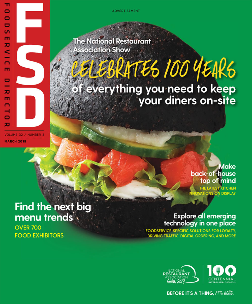 March Edition Foodservice Director