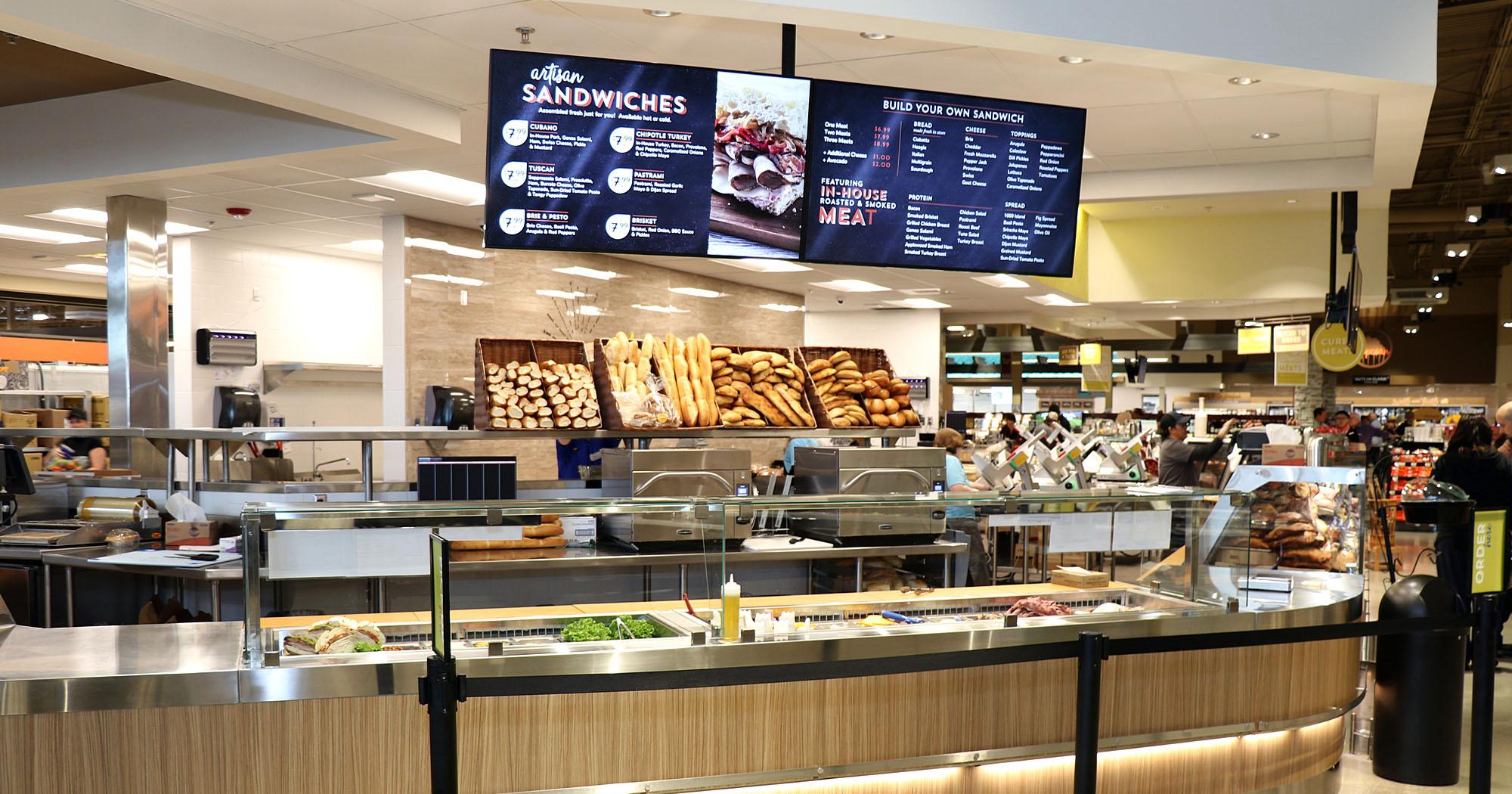 Albertsons food court