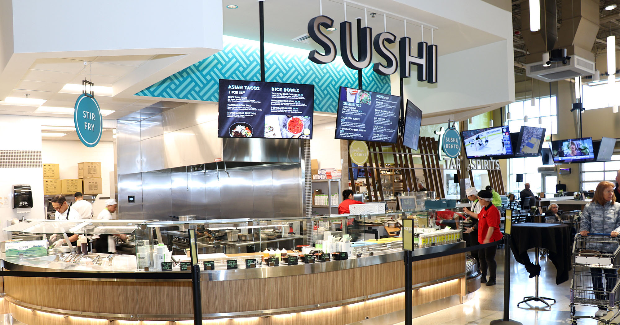 Albertsons sushi