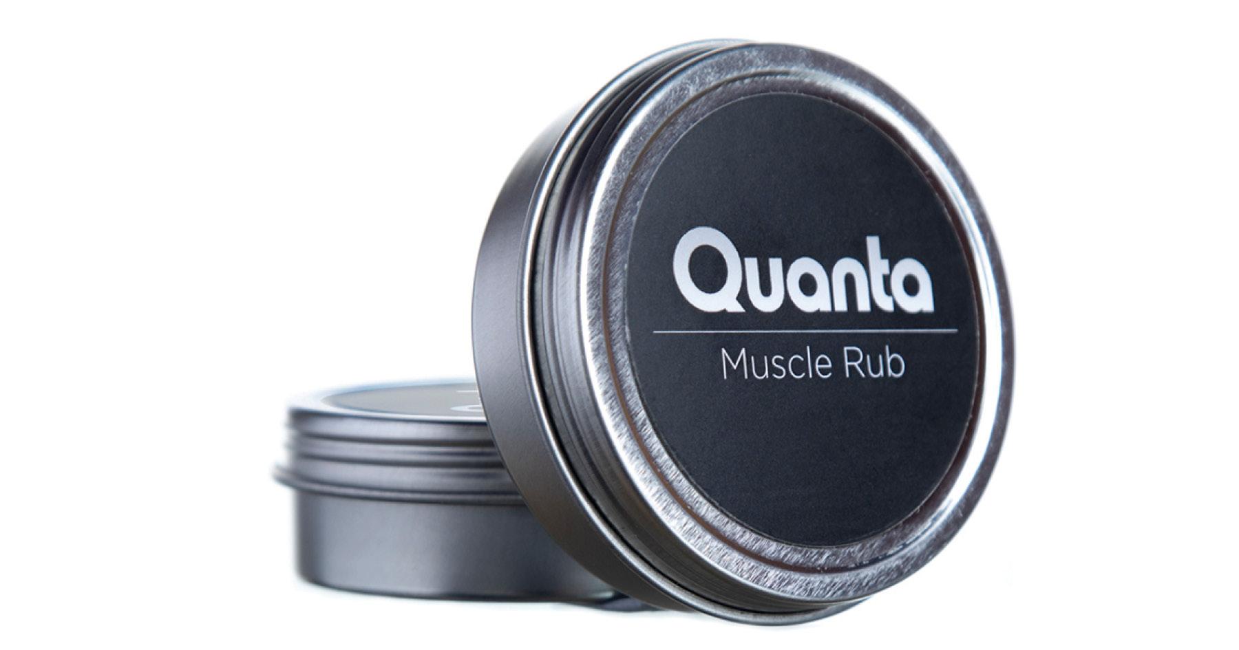 quanta cbd muscle rub