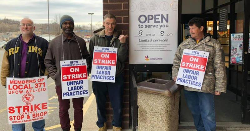 stop and shop on strike