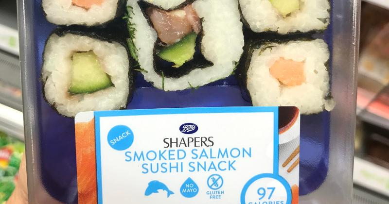 Or Sushi as a Snack