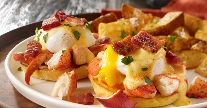 Lobster and Applewood-Smoked Bacon Benedict