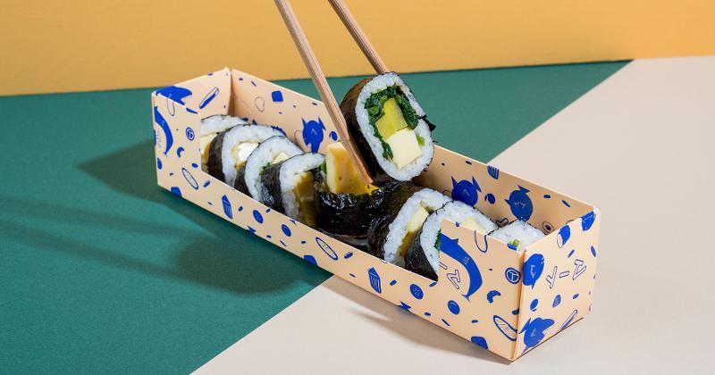 Sushi Roll Peach Mart
