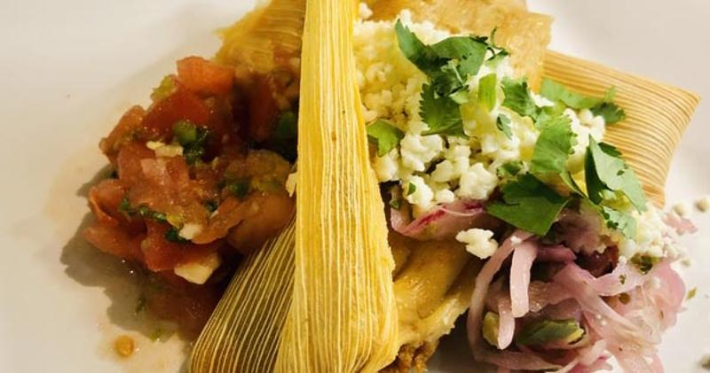 chorizo and potato tamales