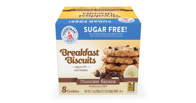 Chocolate Banana Breakfast Biscuits