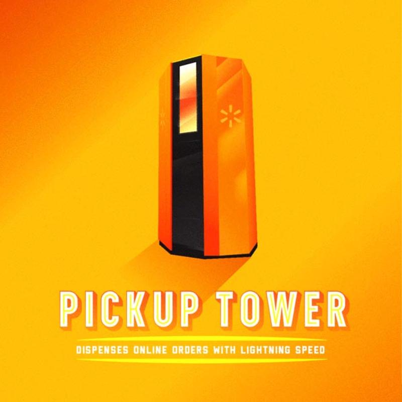 pick up towers