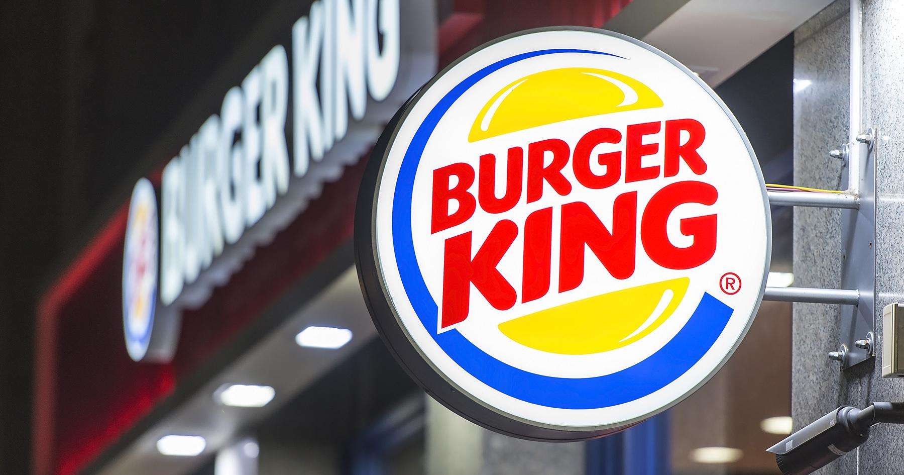 Burger King dismisses its suit against a large franchisee