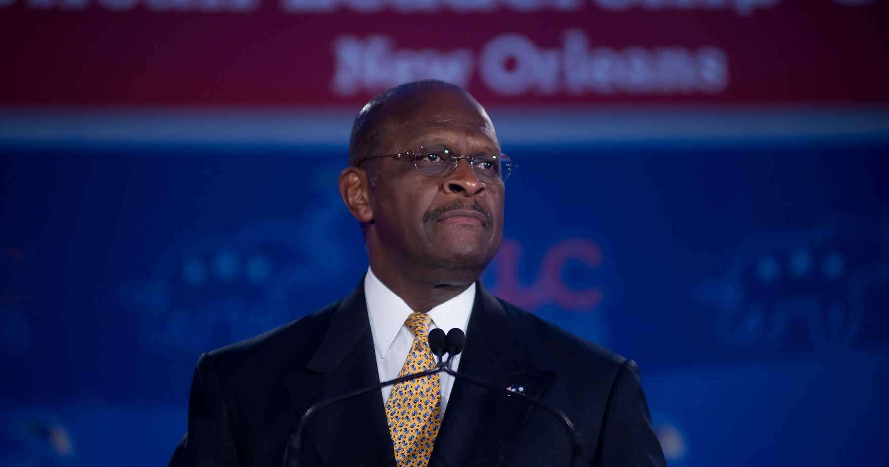 Trump eyes Herman Cain for Fed board seat