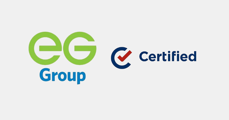 EG Group Certified Oil logos