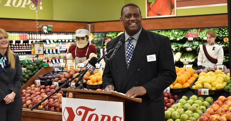 Tops Donald Myles, Elmira Tops store manager