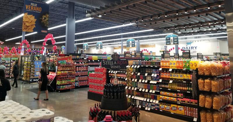 Cardenas Markets store aisles
