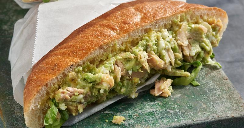 Avocado & Tuna Salad Trapizzino
