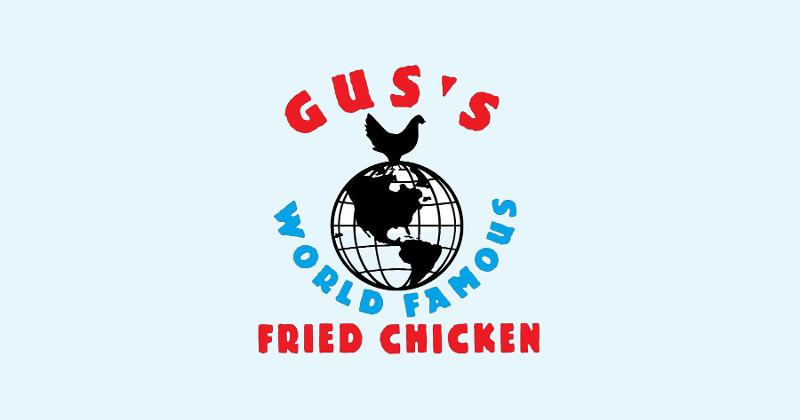 Gus's world famous fried chicken logo