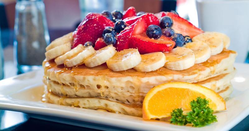 pancakes from Keke's breakfast cafe