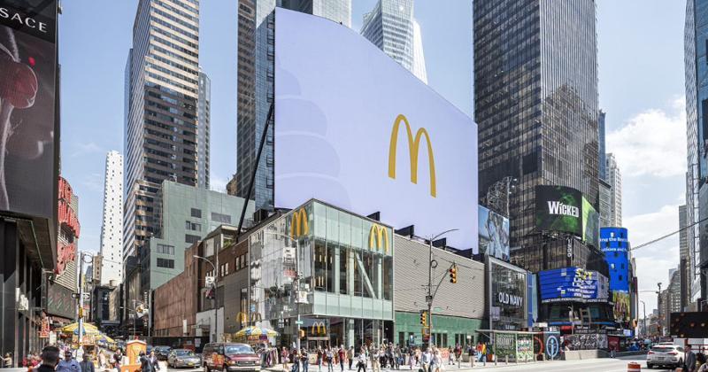 McDonald's NY storefront