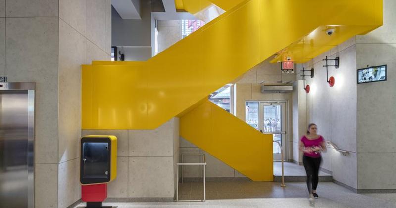 mcdonalds ny staircase