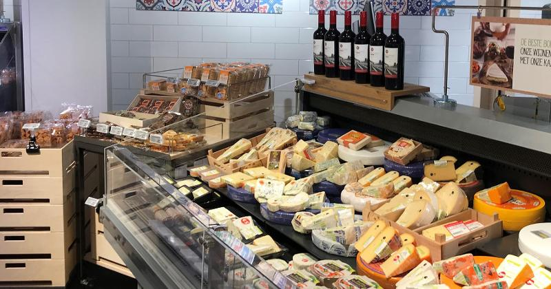 Plus cheese section