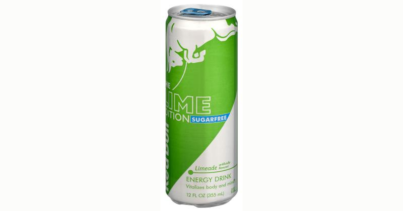 red bull lime