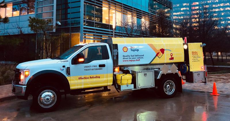 shell tapup truck