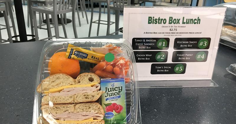 West Islip Public School Bistro Box