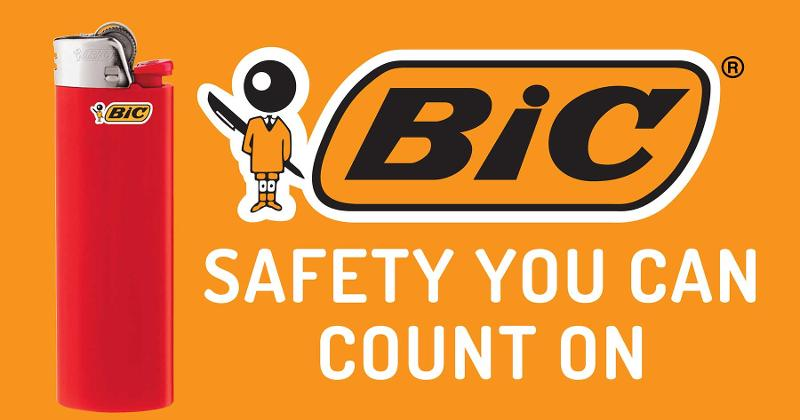BIC safety logo