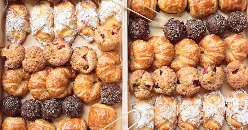 catered breakfast pastries