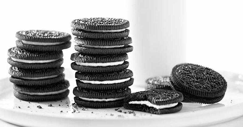 oreo cookie stacks