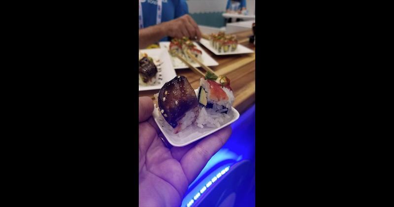 plant-based sushi