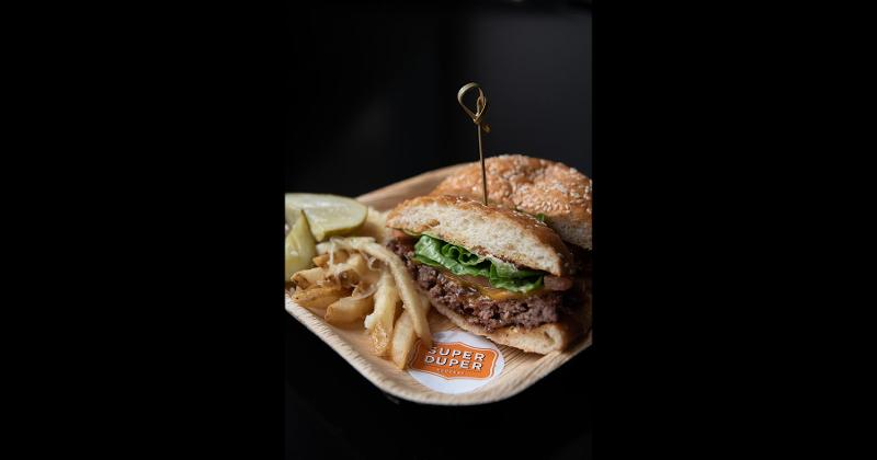 San Fransisco Giants Burger