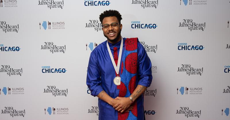 Rising Star Chef of the Year: Kwame Onwuachi, Kith and Kin, Washington D.C.