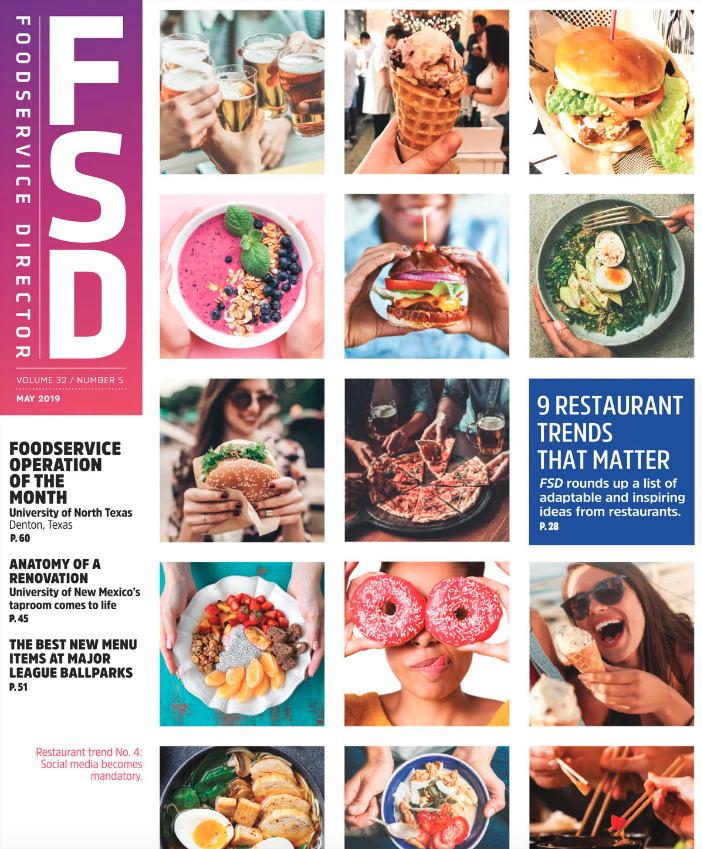 FoodService Director Magazine May 2019 Issue