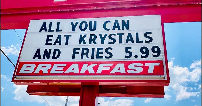 krystal all you can eat sign