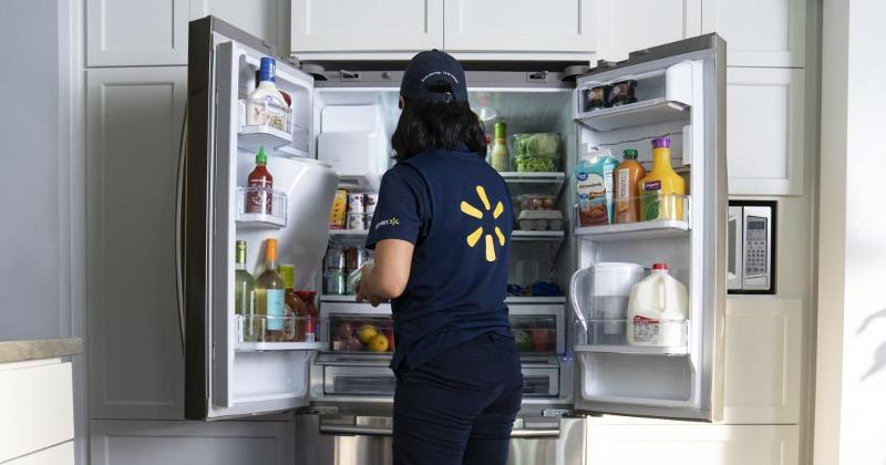 walmart in-fridge delivery