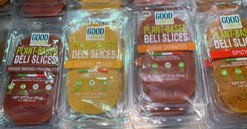 plant-based deli slices