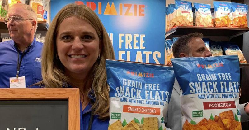 grain free snack flats