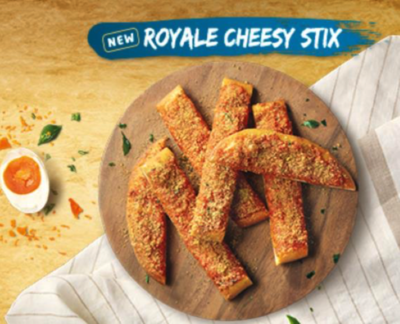 royale cheesy Stix